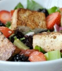 Berry Salad with Tofu