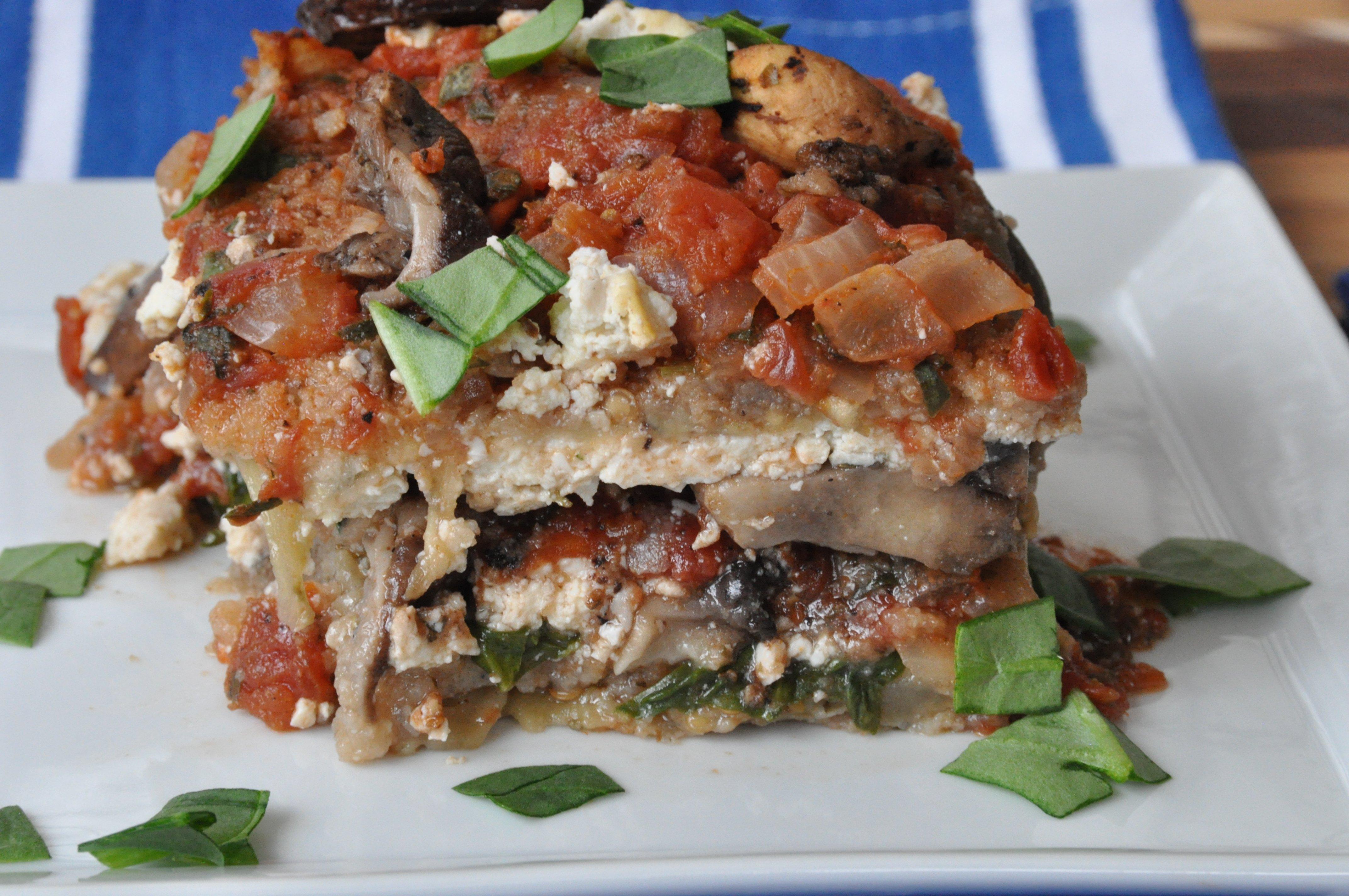 Vegan Eggplant Lasagna - Veganosity