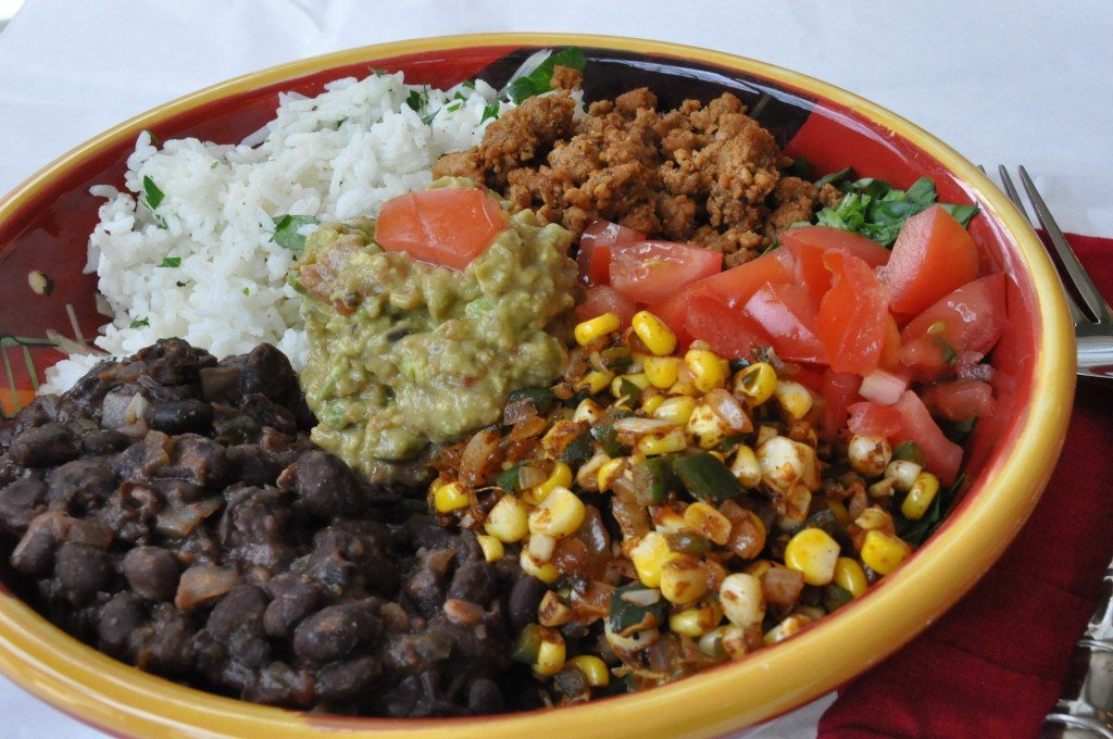 Vegan Burrito Bowl - Veganosity
