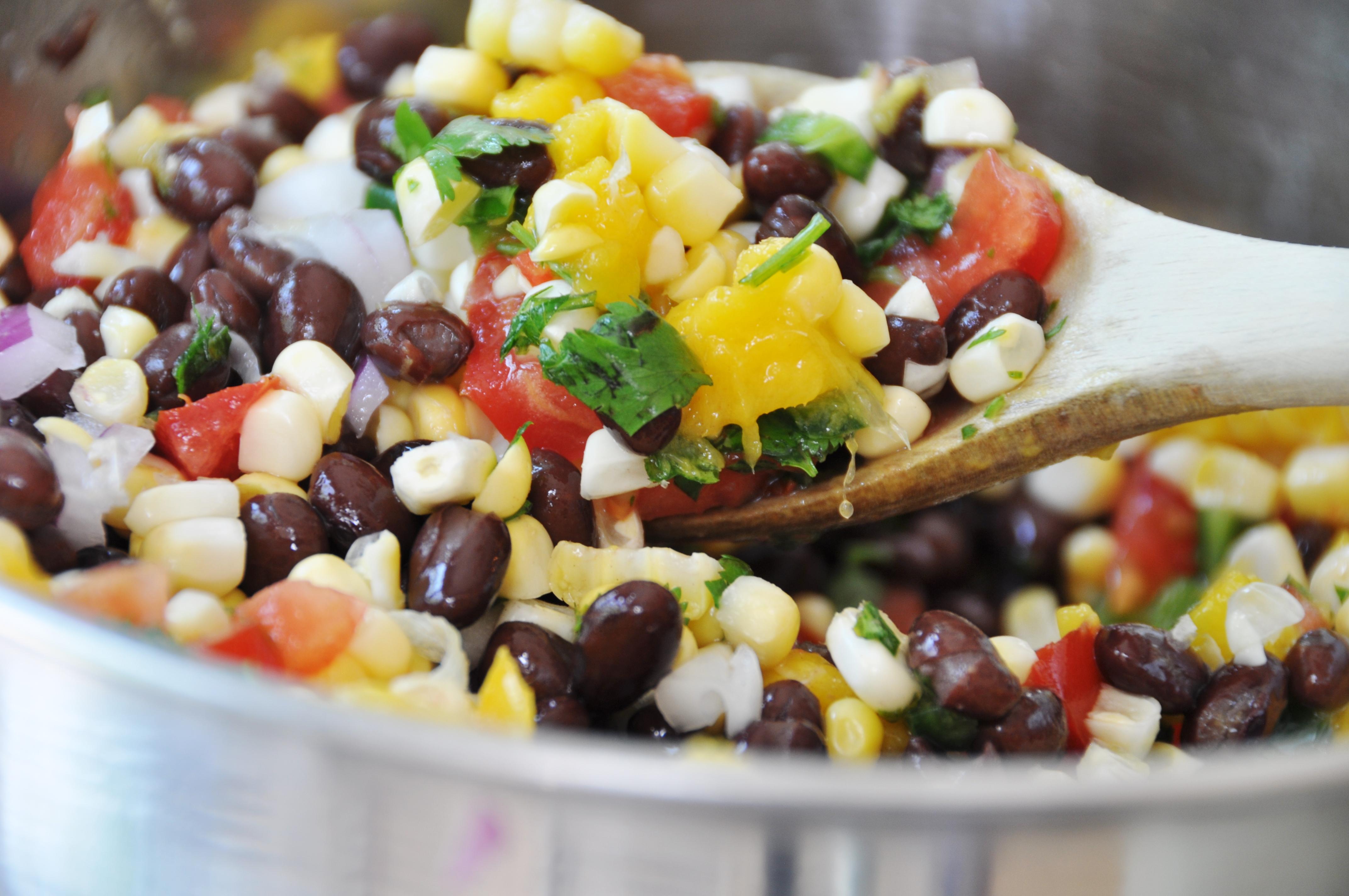 Black Bean and Mango Salsa