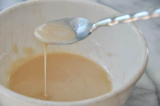 Vegan Vanilla Glaze