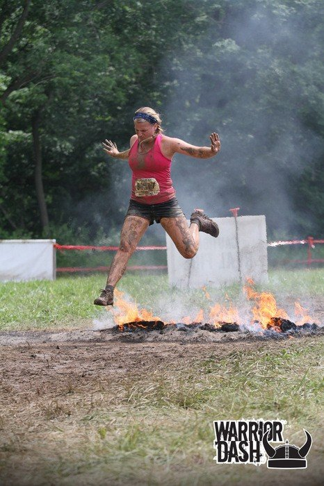 Alex at the Warrior Dash