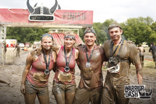 Warrior Dash Family Pic