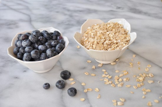 Blueberries and Oats