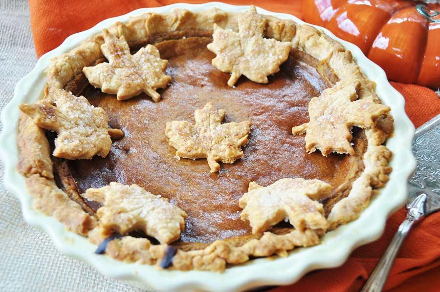 Ina Garten Pumpkin Pie vegan pumpkin pie (dairy and egg free) - veganosity