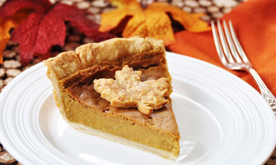 Vegan Pumpkin Pie for Thanksgiving