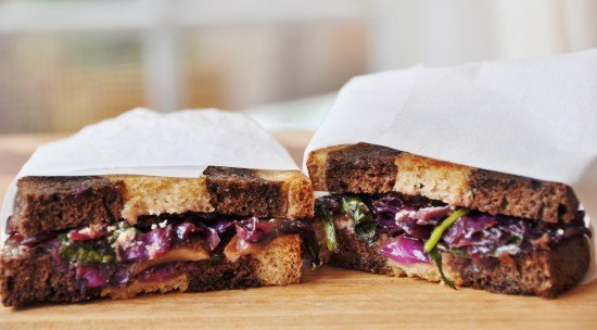 Vegan Vegetable Rubin Sandwich