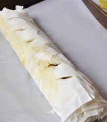 Rolled Phyllo Dough