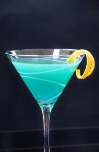 Curacao Martini