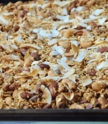 Orange Coconut Granola