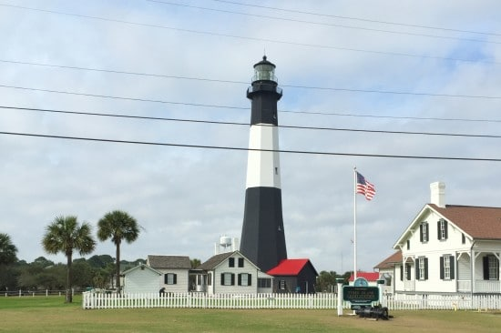 Lighthouse on Tybee Island, GA