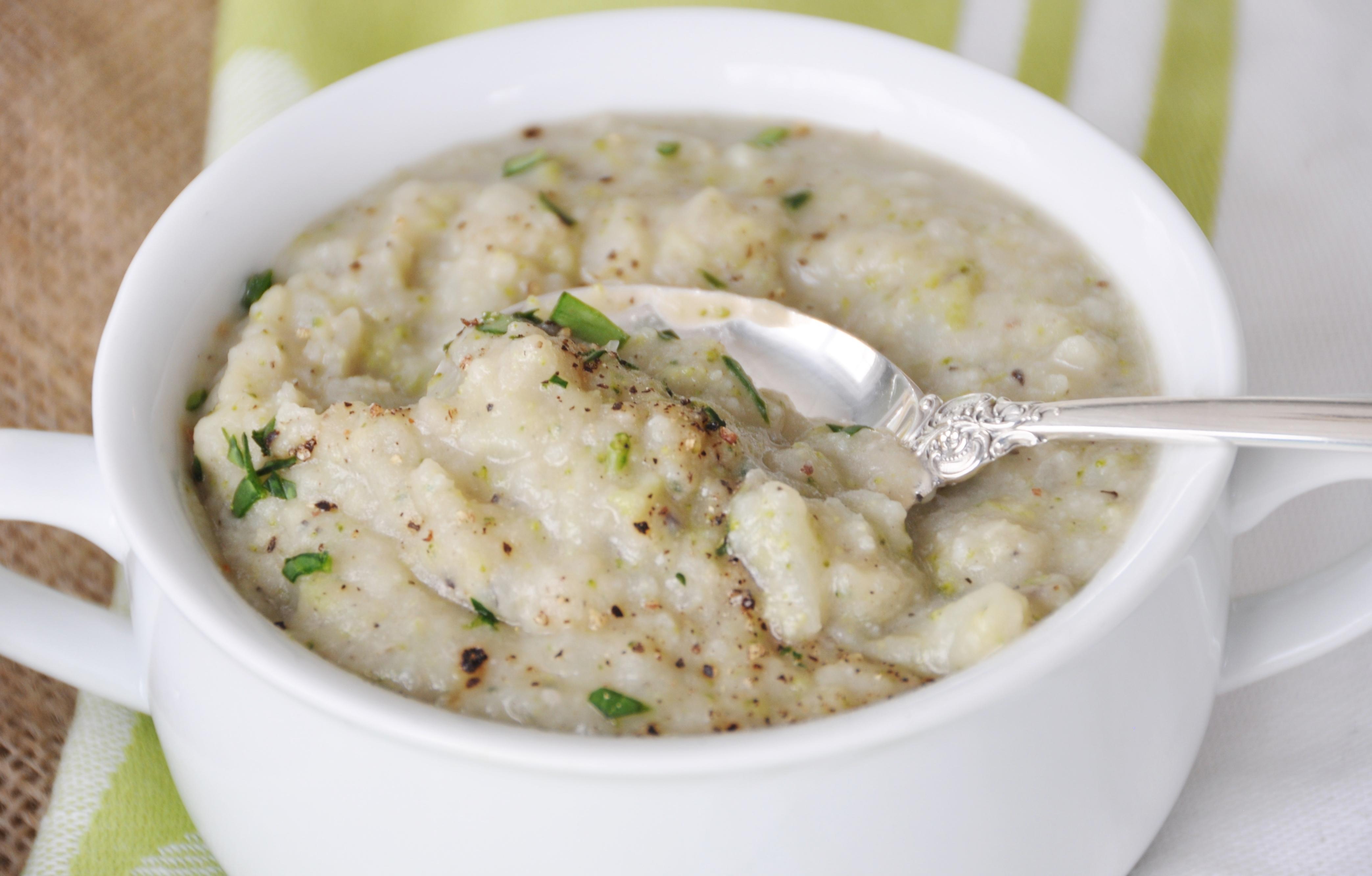 Cauliflower Potato And Broccoli Soup