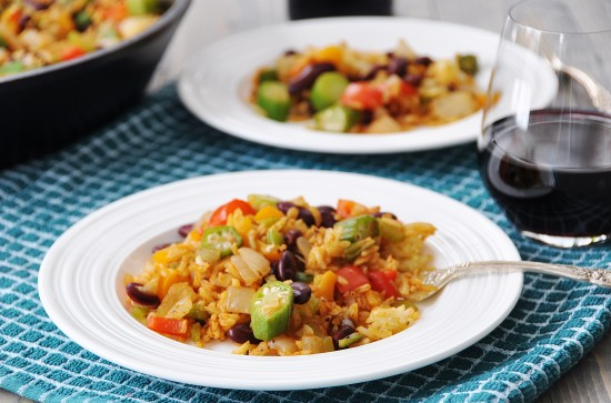 Vegan Creole Fried Rice