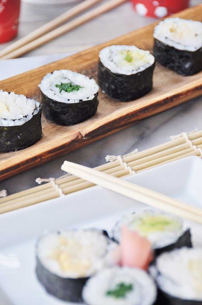 How to Make Vegetable Sushi Rolls