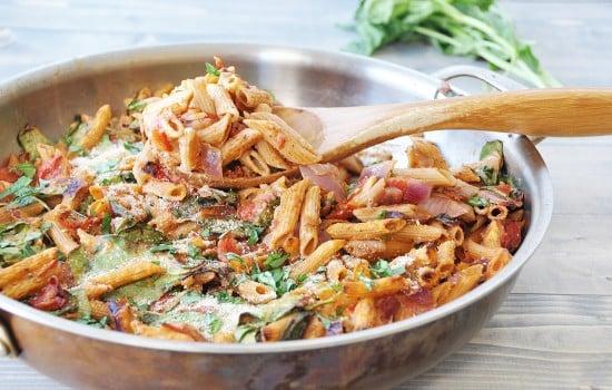 Vegan Penne Pasta Casserole! Healthy and so delicious. www.veganosity.com