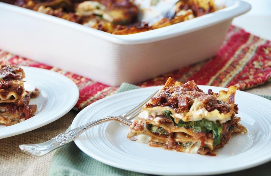 how to make vegan lasagna