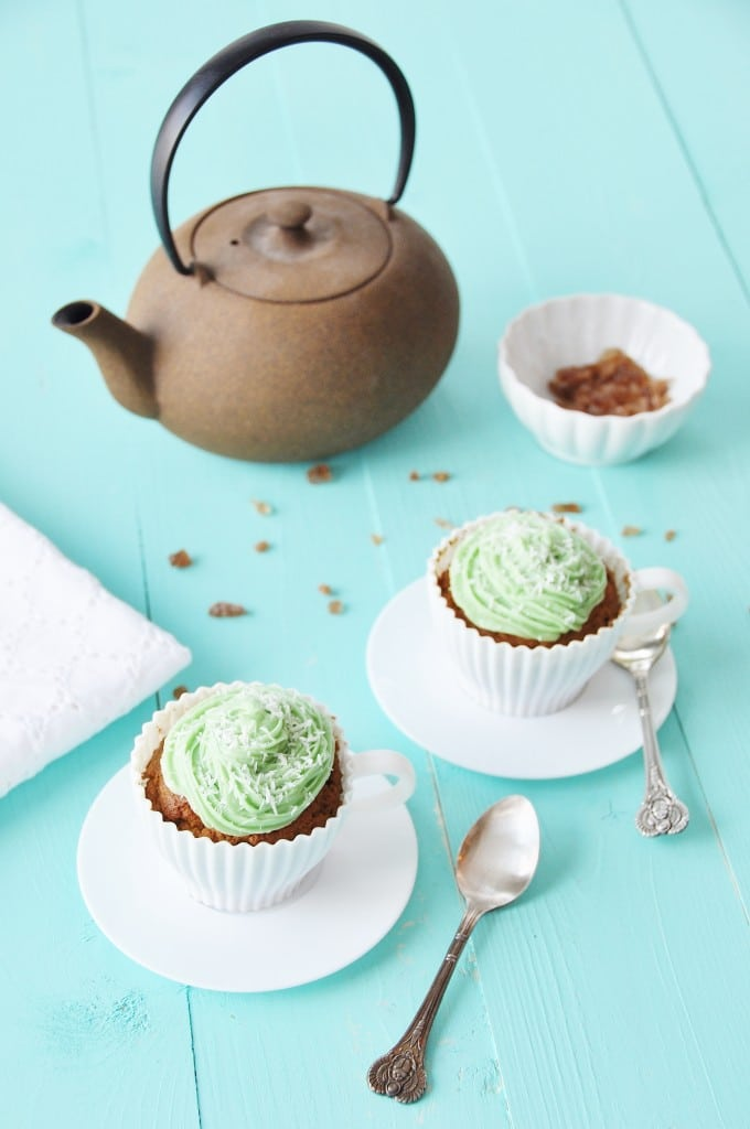 Matcha Green Tea Cupcakes