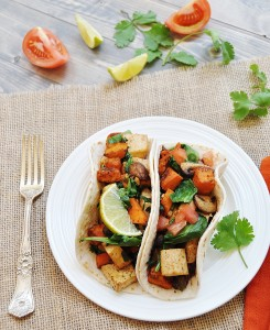 Sweet Potato and Tofu Tacos