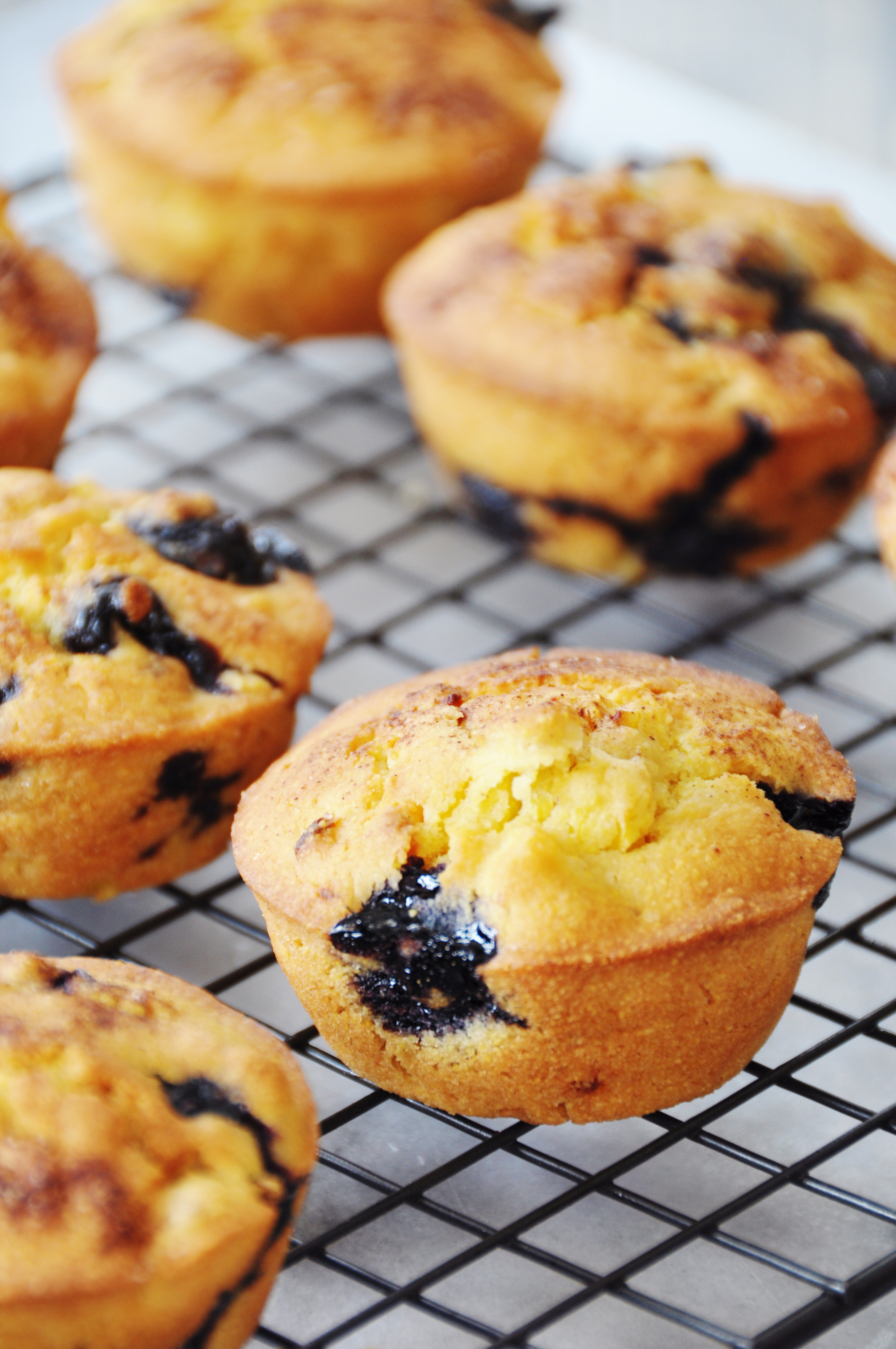 ... corn muffins. Most of the sweetness comes from the fruit and the corn