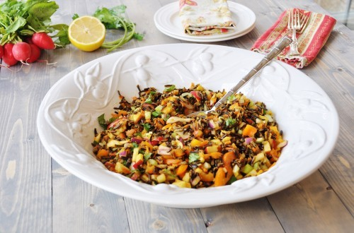 Wild Rice Vegetable Pilaf