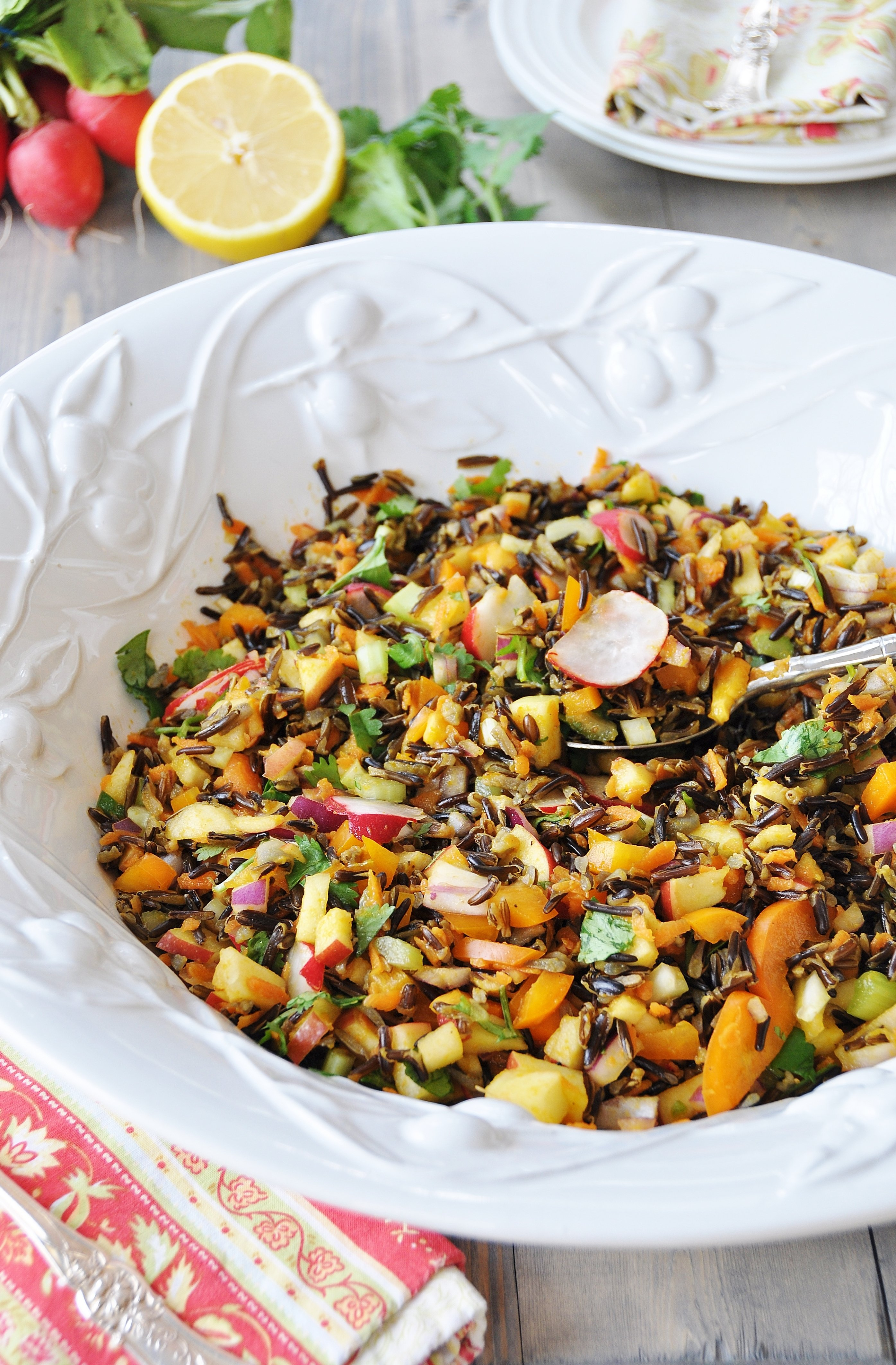 , satisfying, nutrient dense, and delicious wild rice vegetable pilaf ...