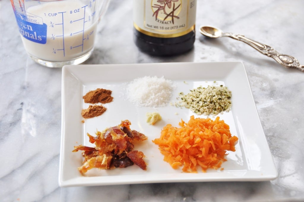 Spices for Carrot Cake Overnight Oats