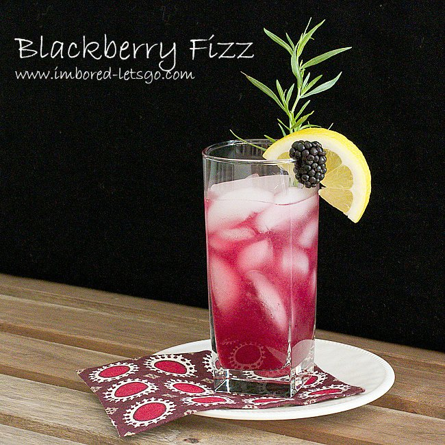 Blackberry-Tarragon-Cocktail