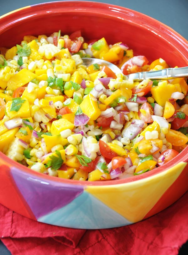"Beer Battered ""Fish"" Tacos with Mango Salsa! This vegan taco recipe..."