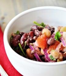 Spicy 3 Bean Salad