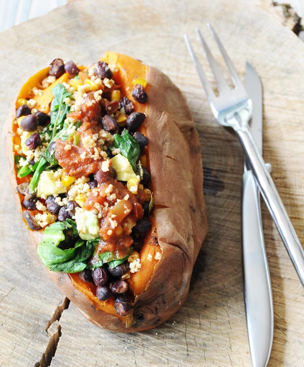 Mexican stuffed potatoes vegetarian recipes