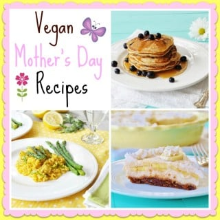 Vegan Mother's Day Menu