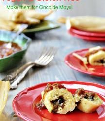 Mushroom Tamales - Vegan & Gluten Free