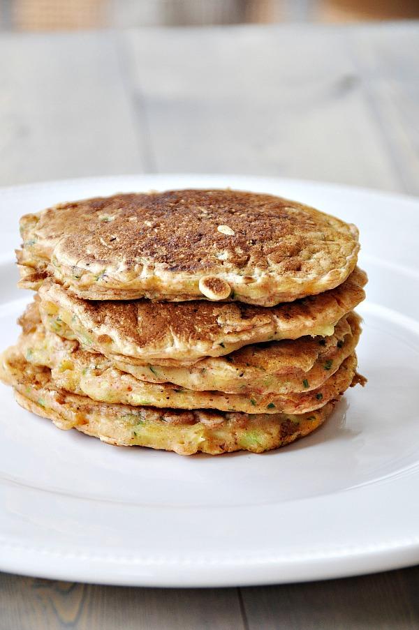 Vegan Savory Zucchini Amp Corn Pancakes Veganosity