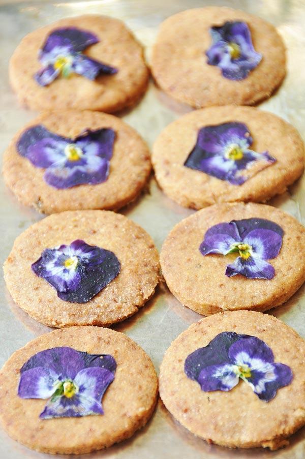 Recipe vanilla lavender shortbread cookies – Food ideas recipes