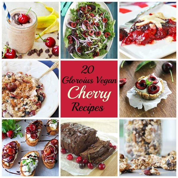 20 glorious vegan cherry recipes veganosity 20 glorious vegan cherry recipes forumfinder Image collections