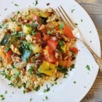 Moroccan Summer Vegetable Stew