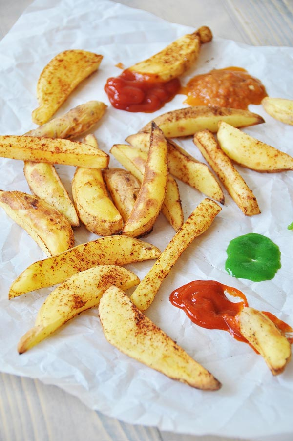 Quick and Easy Oil-Free Chipotle Home Fries - Veganosity