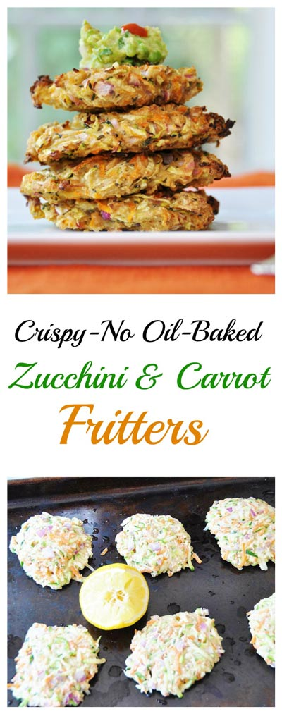 zucchini-fritters-Collage