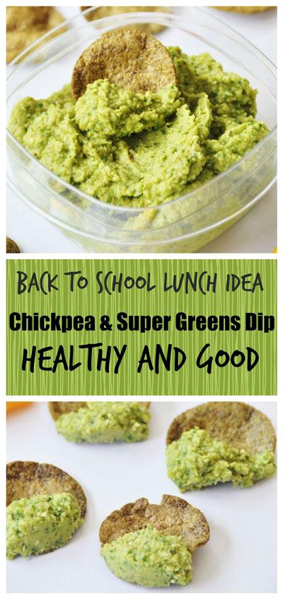 Chickpea & Super Greens Dip
