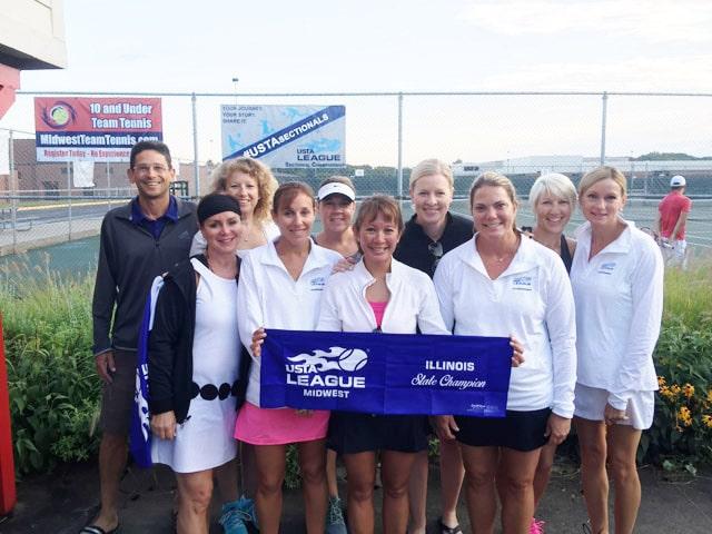 USTA Woman's Illinois State Champions
