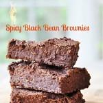 Spicy Vegan Black Bean Brownies