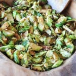 Spicy Stir-Fried Brussels Sprouts