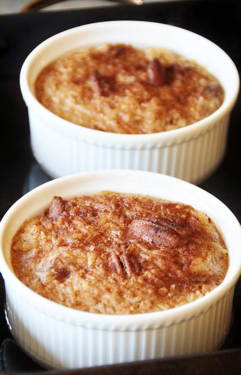 Vegan NOG Rice Pudding! This vegan nog rice pudding recipe is made ...