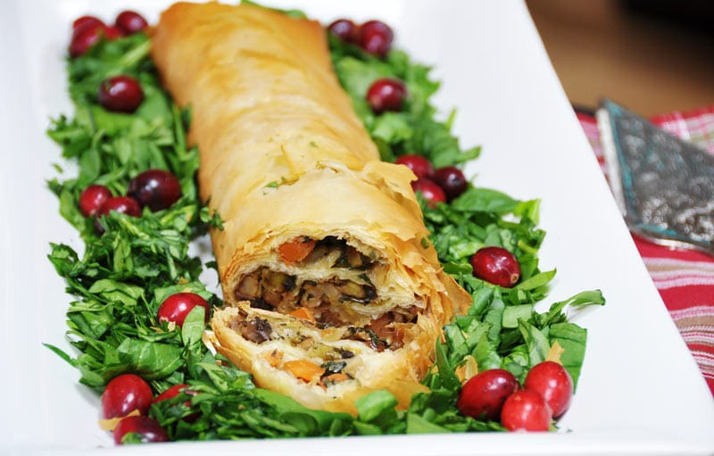 Vegan Vegetable Wellington