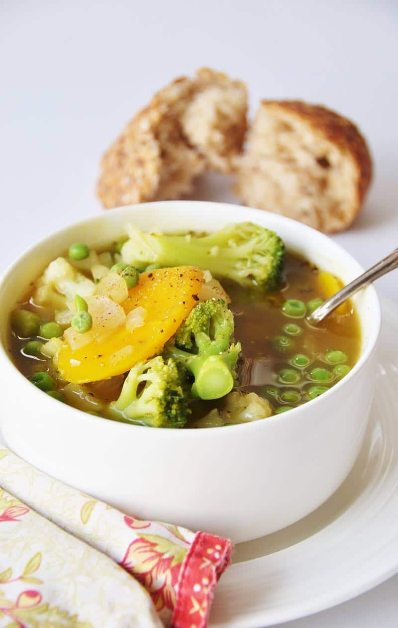 Ingredient 30 Minute Vegetable Soup! This soup recipe is so easy to ...