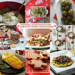 Traditional Holiday Recipes from Some of My Favorite Vegan Bloggers