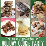 Gluten-Free Holiday Cookie Party & Choco Cranberry Coconut Macaroons