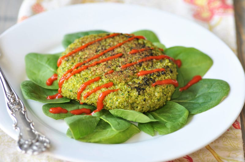 Edamame Rice Burger! This delicious edamame burger recipe is made with ...