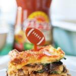 Vegan Mexican Lasagna #KickUpTheFlavor