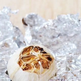 Simple and Easy Oil-Free Roasted Garlic